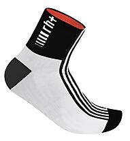 rh+ Fuego Sock (9 cm), White/Black