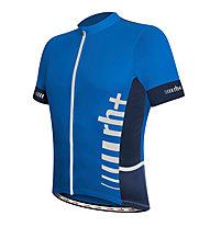 rh+ Maglia bici Logo Evo Jersey, Petrol Blue