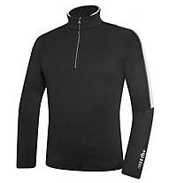 rh+ Maglia sci Planar Jersey, Black/OffWhite