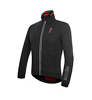 rh+ PW Omega Lite Soft Shell Radjacke, Black/Red