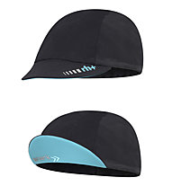 rh+ Shark Cap Radkappe, Black/Water Green