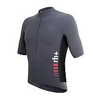 rh+ SpeedCell Jersey Radtrikot, Anthracite/Black/Red