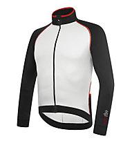 rh+ Maglia bici manica lunga Zero LS Jersey, Black/White/Red
