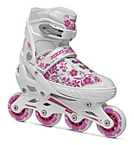 Roces Compy 8.0 Girl Inlineskates, White/Pink