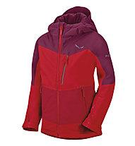 Salewa Giacca sportiva Antelao PTX/PF K Jacket, Red Onion