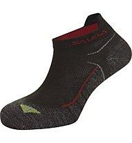 Salewa Approach No Show Socks, Anthracite