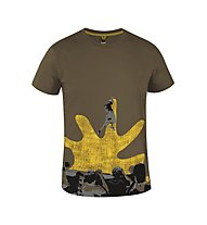 Salewa Callforhero Klettershirt, Turkish Coffee