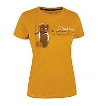 Salewa Gombu CO W S/S Tee, Marigold
