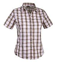 Salewa Hannah DRY Shirt S/S W's, Rose/Brown