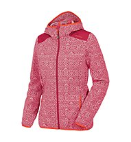 Salewa Lifi 2 PL Full-Zip Hoody, Velvet Red/Grey