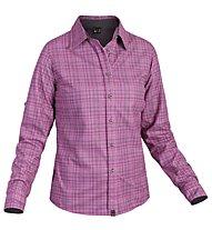 Salewa Molignon PL W L/S Shirt Camicia a maniche lunghe trekking Donna, Talut Dahlia