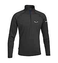 Salewa Ortles Cubic PL Shirt Maglia a manica lunga, Black Out