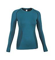 Salewa Prolix Dry'ton Maglietta tecnica a maniche lunghe alpinismo donna, Teal