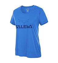 Salewa Puez Mountain DRY - T-shirt trekking donna, Royal Blue