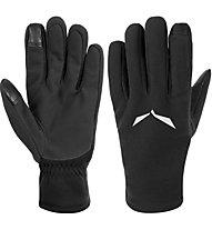 Salewa Puez Pl Gloves Guanti Alpinismo, Black
