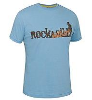 Salewa Rockability T-shirt arrampicata, Light Blue