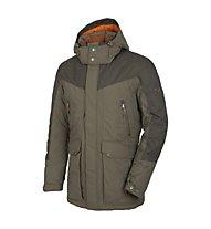 Salewa Rotwand 2 PTX giacca in piuma, Black Olive