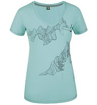 Salewa Rural Wild T-Shirt Damen, Green Lake