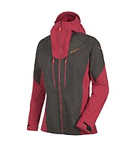 Salewa SESVENNA WO/DST W JKT, Black Out/Red