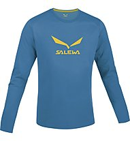 Salewa Solidlogo Shirt Langarm, Reef
