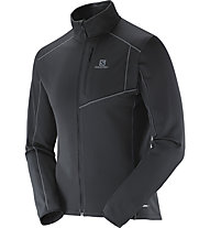 Salomon Discovery Fz M Giacca in pile, Black