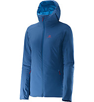 Salomon Drifter Hoodie W Giacca a vento donna, Dolomite Blue