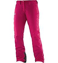 Salomon Pantaloni sci Iceglory W, Gaura/Pink