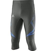 Salomon Intensity 3/4 Tight M - pantaloni running 3/4, Grey