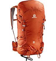Salomon X Alp 30 - Zaino alpinismo, Orange/Tomato Red