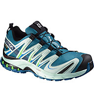 Salomon XA Pro 3D GORE-TEX Damen, Fog Blue/Igloo Blue/Tonic Green