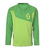 Scott AMT L/S Shirt, Green/Lime Green