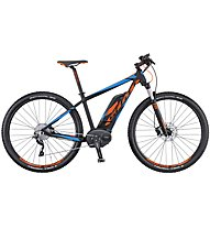Scott E Aspect 920 (2016) E-Mountainbike, Black/Blue/Orange