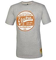 Smith & Miller Motor City T-Shirt Kurzarm, Grey