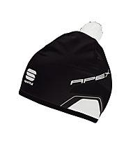 Sportful Apex Race Hat Langlaufmütze, Black/White