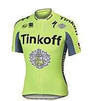 Sportful Maglia bici Tinkoff BodyFit Pro Team Jersey, Green