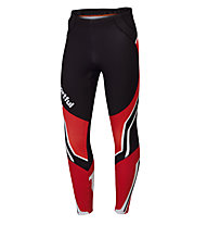 Sportful Pantaloni sci di fondo Worldloppet Tight, Black/Red