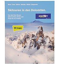 Sportler Skitouren in den Dolomiten, Deutsch