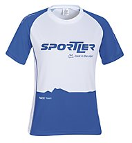 Sportler SS Nizza Sportline Shirt, White/Navy