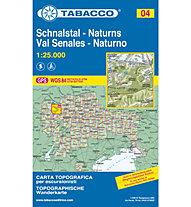 Tabacco N° 04 Schnalstal/Val Senales-Naturns/Naturno (1:25:000), 1:25.000