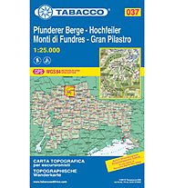 Tabacco N° 037 Gran pilastro/Hochfeiler - Pfunderer Berge/Monti di Fundres (1:25.000), 1:25.000