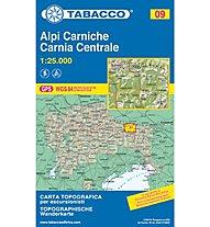 Tabacco N° 09 Alpi carniche - Carnia centrale 1:25.000, 1:25.000