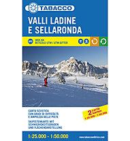 Tabacco Carta Sciistica Valli Ladine e Sellaronda 1:25.000 1:50.000, 1:25.000 / 1:50.000
