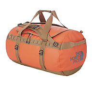The North Face Base Camp Duffle M, Acrylic Orange/Utility Brown