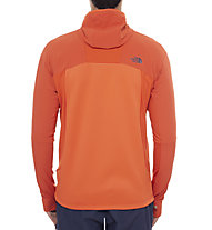 The North Face Jackster Hybrid giacca in pile, Zion Orange