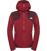 The North Face Shinpuru Jacket Damen Hardshelljacke, Red