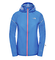 The North Face Storm Stow Jacket W - Damenlaufjacke, Light Blue