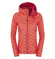 The North Face ThermoBall giacca con cappuccio donna, Rambutan Pink