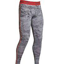 Under Armour Armour HG Leggings, Graphit/Dark Orange
