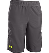 Under Armour Boys' UA Edge Shorts, Charcoal