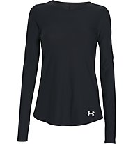 Under Armour Coolswitch Laufshirt langarm Damen, Black
